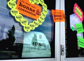 Grève des employés de magasins et de bureaux de la SAQ-Deux des trois succursales de Drummondville touchées