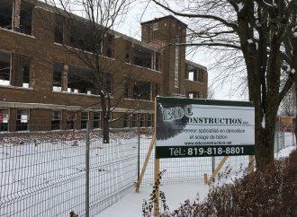 Centre Saint-Paul de Drummondville: Les travaux de démolitions sont officiellement commencés