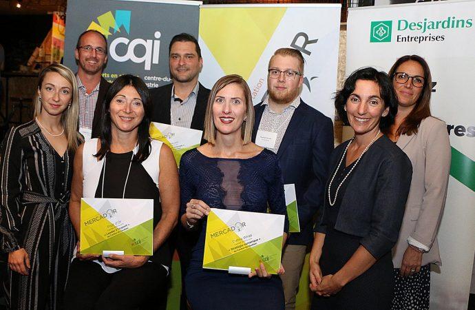 15 finalistes issus du réseau de CQI représenteront le Centre-du-Québec, l'Estrie et la Mauricie au Gala MercadOr national