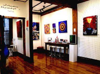Mémoires intemporelles ensoleille les murs de la Galerie mp tresart depuis le 1er juillet