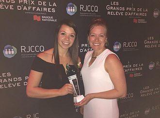 Grands prix de la relève d'affaires-La JCCD remporte le titre de Jeune chambre de commerce de l'année