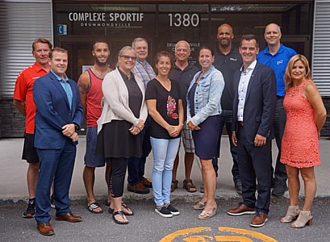Une délégation de la Ville de Drummondville présente aux Jeux du Québec 2018 à Thetford Mines