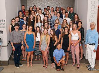 40 athlètes appuyés par la Ville de Drummondville pour le Programme de soutien aux jeunes athlètes en sport amateur