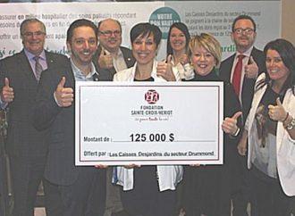 Les Caisses Desjardins de Drummondville dévoilent leur engagement pour la Fondation Sainte-Croix/Heriot