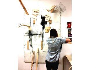 L'exposition « Treize» des finissants en Arts visuels du Cégep de Drummondville à la Galerie d'art Desjardins