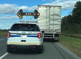 Une opération concertée en matière de conduite automobile mène à 32 constats d'infraction