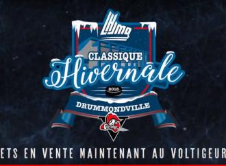 Classique hivernale Drummondville 2018-Les hockeyeurs de tout âge pourront participer