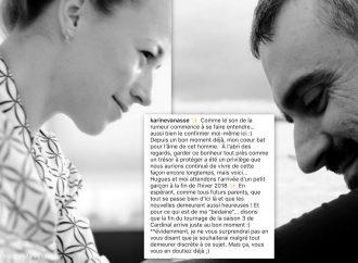 La Drummondvilloise Karine Vanasse attend son premier enfant