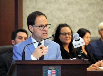 Alexandre Cusson réélu à titre d'administrateur à l'UMQ