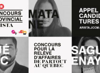 Concours provincial ARISTA 2018: Place à la relève et aux leaders de demain