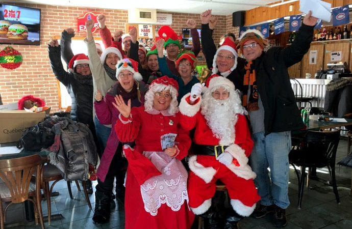 Un autre élan de générosité de «La gang des amis du père Noël»