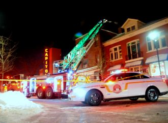 Vaste déploiement du service incendie au centre-ville de Drummondville en soirée mercredi