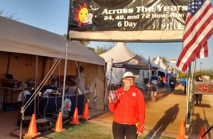 Ultramarathon – Across the year en Arizona:  Le couple Gouin-Morin en action