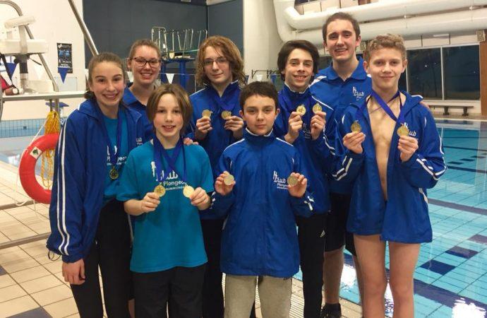 Finale régionale des Jeux du Québec / Mes premiers Jeux – Le club de plongeon de Drummondville s'illustre à Victoriaville