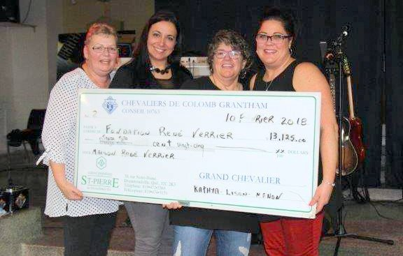 Un généreux «Party gaspésien» à Drummondville pour la Fondation René-Verrier