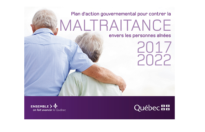 Signature de l'Entente-cadre nationale pour lutter contre la maltraitance envers les personnes aînées