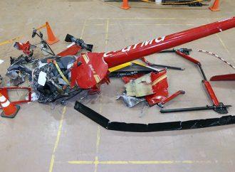 Écrasement de l'hélicoptère Robinson R44 – Le BST poursuit son enquête sur les circonstances de l'accident du 1er février