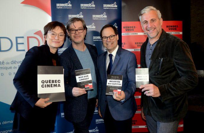 La première édition des RENDEZ-VOUS QUÉBEC CINÉMA à Drummondville – On se fait notre cinéma !