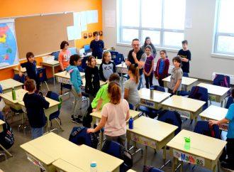 Rencontre des élèves de l'Orée des Bois: «On réalise ensemble du peu de choses que l'on décide en venant au monde»- Alain Labonté