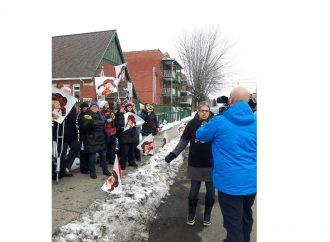 Négociations dans les centres de la petite enfance (CPE) – 20 CPE du Cœur du Québec ont débrayé