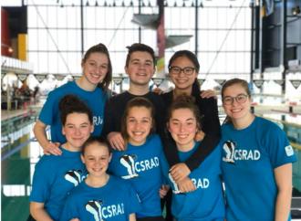 Le CSRAD s'illustre au Championnat québécois de sauvetage sportif épreuves physiques à Gatineau