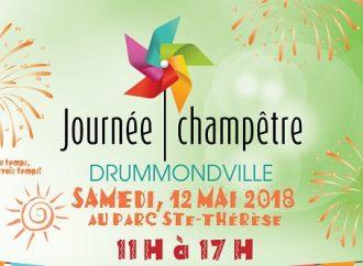La 9e Journée champêtre de Drummondville se déroule le samedi 12 mai