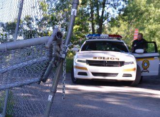 Un drummondvillois en cavale arrêté à Saint-Boniface-de-Shawinigan au volant d'un véhicule volé au VQA