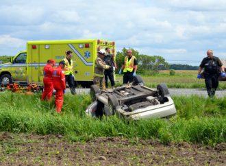 Une conductrice de 97 ans perd la vie accidentellement à Saint-Eugène