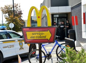 Une intervention policière en raison d'un colis suspect dans le McDonald du boulevard St-Joseph de Drummondville