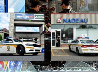 Un voleur et une voleuse à vélo écument deux dépanneurs à Drummondville