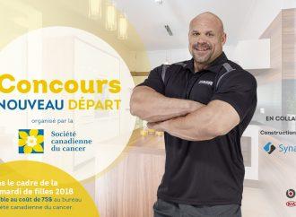Concours Nouveau Départ ! Mardi de filles de Drummondville de la Société canadienne du cancer