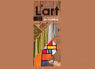 Appel aux artisans de la MRC de Drummond-Publication d'une nouvelle édition du répertoire: L'art de transformer la matière