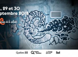 Participez aux «Journées de la culture 2018» qui se déroulent du 28 au 30 septembre