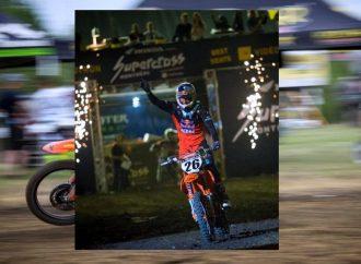 Kaven Benoit annonce son départ de la course et des compétitions de motocross