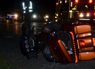 Accident de motocyclette mortel sur la 55-Des accusations pourraient être portées