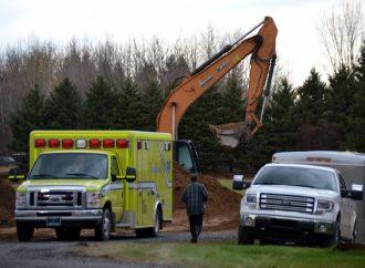Le jeune travailleur perd la vie dans l'accident de travail à Saint-Eugène-de-Grantham