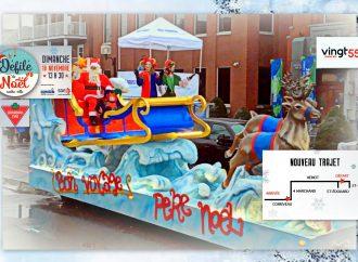 Défilé du père Noël dimanche: LE VRAI PÈRE NOEL déjà en direction de Drummondville