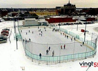 Ouverture ce samedi 17 novembre et horaire de la patinoire Victor-Pepin (patinoire réfrigérée)