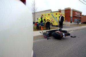 Un autre accident de scooter fait deux blessés à Drummondville