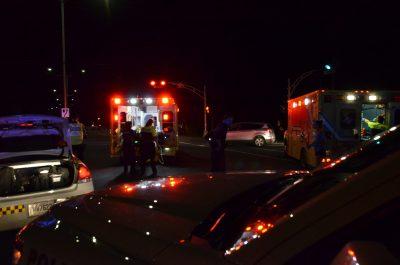 Deux blessés dans un accident impliquant une motocyclette et une voiture