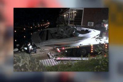 La Sûreté du Québec (SQ) effectue des recherches pour retrouver un homme dans la rivière Saint-François