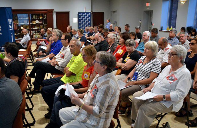 L'école de pilotage et l'Aéroport de Drummondville au cœur des discussions avec des citoyens