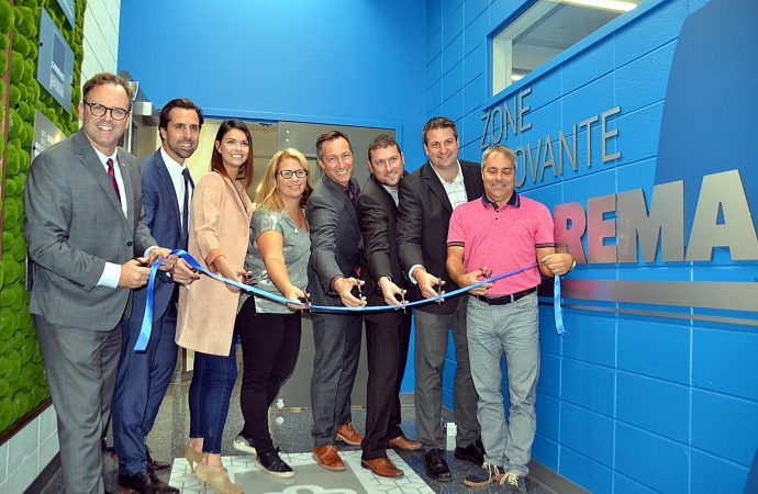 Le Collège Saint-Bernard de Drummondville inaugure la «Zone innovante Soprema»