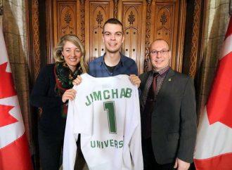 Jimchab rencontre la ministre Mélanie Joly au Parlement du Canada