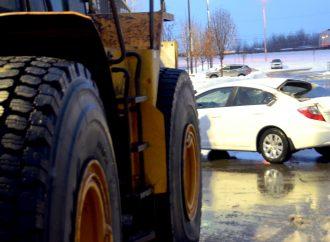 Un «fait-d'hiver» accidentel à Drummondville