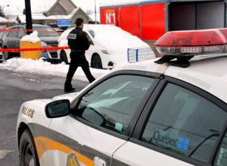 Un homme retrouvé sans vie dans une voiture du stationnement de Walmart à Drummondville