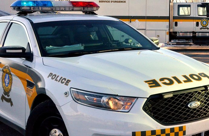 Les policiers de la SQ font une opération en matière de boissons alcooliques à Saint-Guillaume