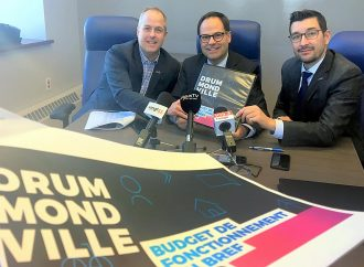 Teinté de sa planification stratégique 2017-2022: La Ville de Drummondville dépose le budget de fonctionnement 2019 atteignant 118,9 M$