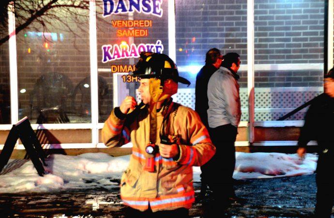 Une alarme incendie cause l'évacuation du Bar «Les pieds légers» de Drummondville