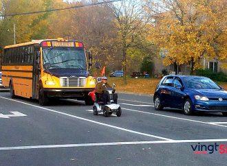 Les véhicules d'Aides à la mobilité motorisée (AMM) arpentent de nouveau nos rues